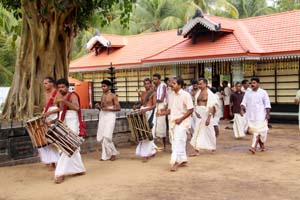 Ponkala Festival in Vazhappully Temple